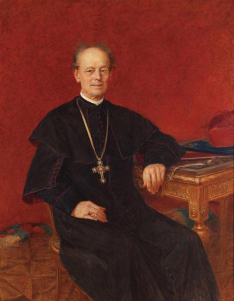 Vlaho Bukovac, Josip Juraj Strossmayer, ok. 1892 roku, olej na płótnie, Moderna galeria Zagreb, materiały udostępnione przez autora