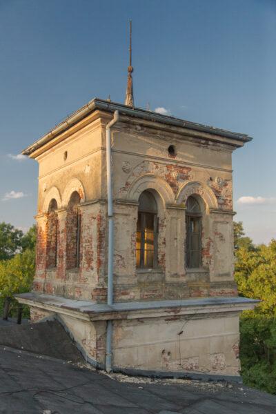 Wieżyczka widokowa pałacu czerwonowiejskiego, fot. Piotr Nędzewicz, 2018