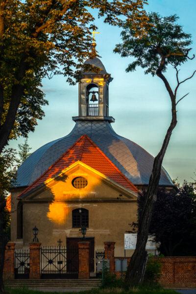 Kościół św. Idziego w Czerwonej Wsi, fot. Małgorzata Maćkowiak-Bartczak, 2019