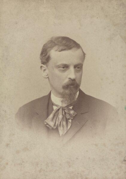 Portret Henryka Sienkiewicza około 1892, fot. Polona