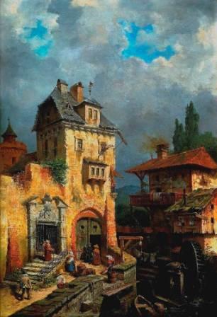 Max Rabes, Stary Młyn, fot. Muzeum Zamek Górków Szamotuły