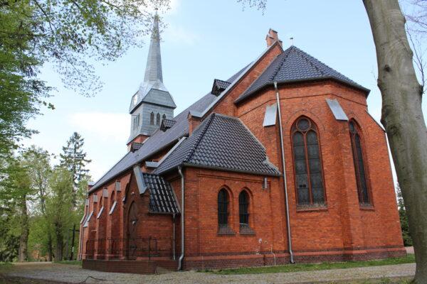 Kościół w Miasteczku Krajeńskim, fot. Marta Konek
