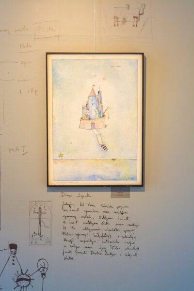 Fragment wystawy, fot. Sławomir Radziejewski
