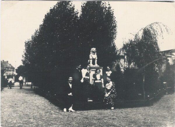 Zwierzyniec, 1936 r, Archiwum Państwowe w Lesznie, reprodukcja M. Gołembka