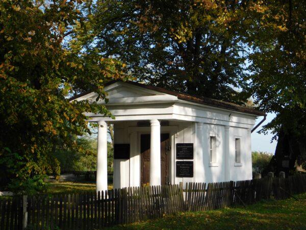 Kaplica grobowa Kęszyckich w Błociszewie, fot. Emilian Prałat, 2020