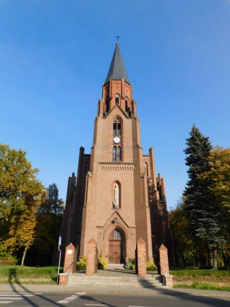 Kościół pw. św. Katarzyny Aleksandryjskiej w Brodnicy, fot. Emilian Prałat, 2020