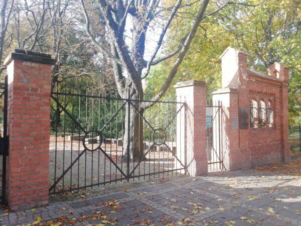 Brama prowadząca na Cmentarz Zasłużonych Wielkopolan, fot. M. Dachtera