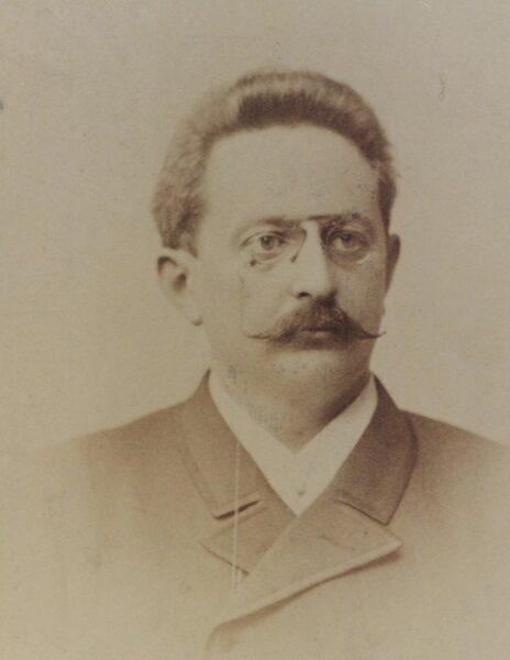 Heliodor Święcicki 1892, fot. Cyryl