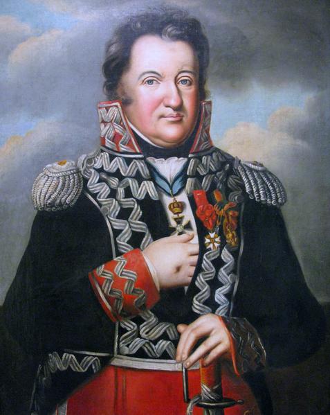Portret Jana Henryka Dąbrowskiego nieznanego autora