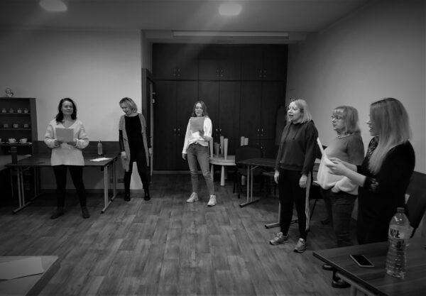 Warsztaty aktorskie w Środzie Wielkopolskiej, fot.  M. Adamski