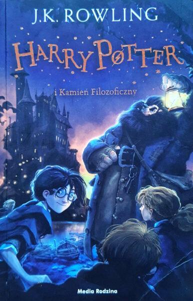 Harry Potter i kamień filozoficzny, wydawnictwo Media Rodzina, fot. Olga Urban