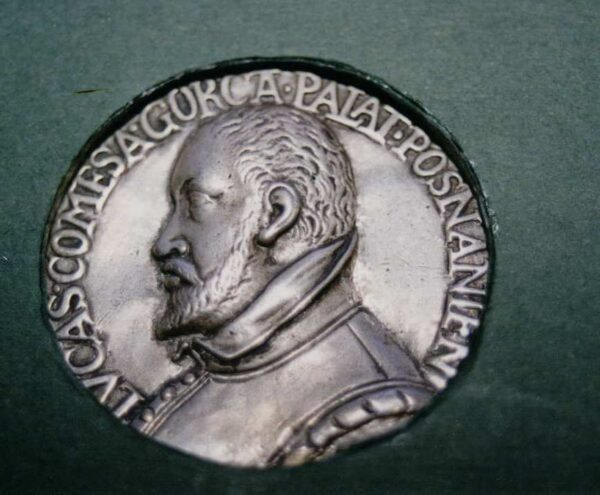 Kopia medalu jubileuszowego Łukasza III Górki