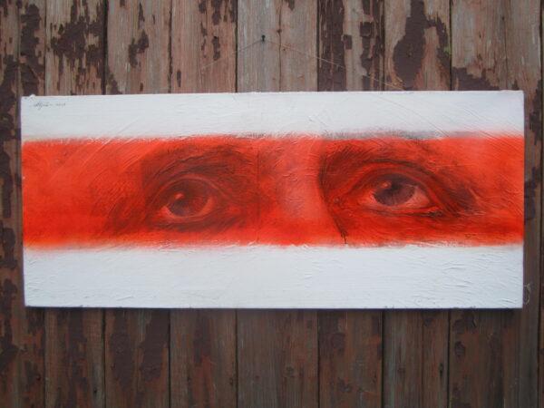 Ales Pushkin, Oczy bohatera