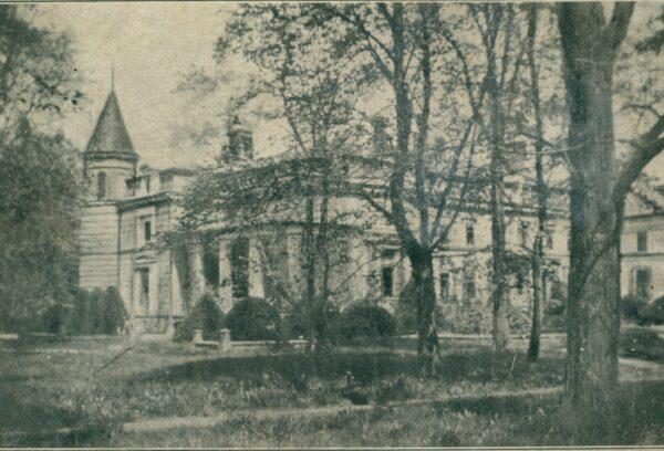 Pałac Kwileckich w Oporowie, fot. Polona