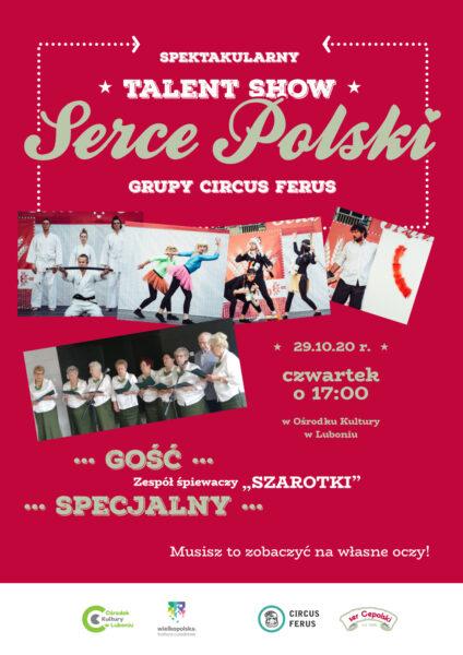 Serce Polski, plakat