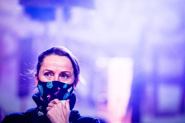 Piczomira Rebel, transmitowany online spektakl Teatru im. Aleksandra Fredry w Gnieźnie, który odbył się w trakcie pandemii, fot. Dawid Stube