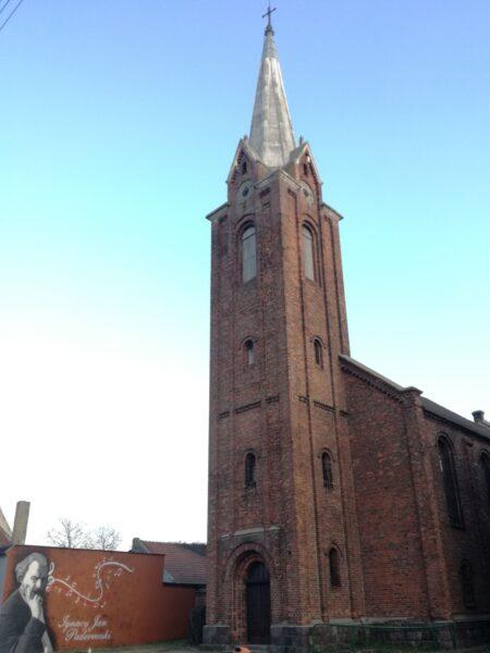 Kościół ewangelicki w Pogorzeli