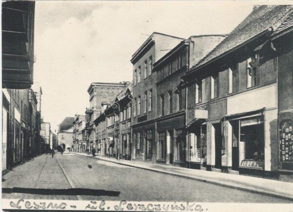 Częsty błąd popełniany przez mieszkańców, nazywanie ulicy Leszczyńskich jako ulicę Leszczyńską, fot. ze zbiorów Z. Sochy