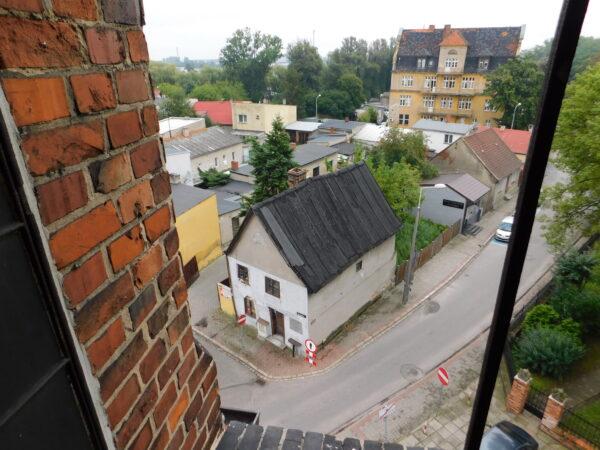 Dom Masztalerza widziany z poddaszy kościańskiej fary, fot. Emilian Prałat
