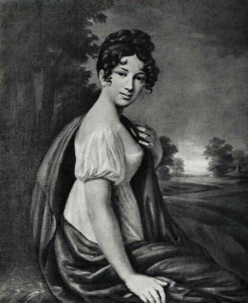 Portret Joanny pędzla Józefa Sonntaga, fot. z archiwum Emiliana Prałata
