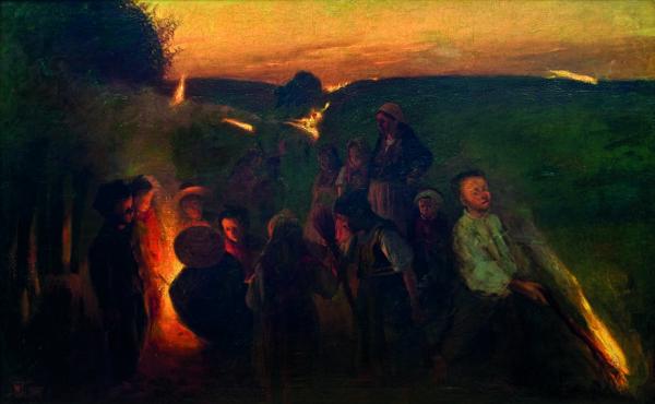 """Włodzimierz Tetmajer """"Noc świętojańska"""""""
