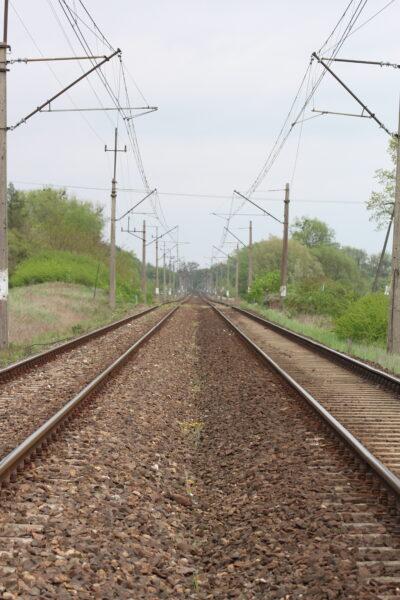 Linia kolejowa, Krajna, fot. Marta Konek