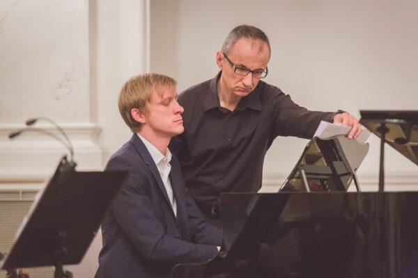 """Koncert """"Poldowski Reimagined"""" Ensemble 1904 w Bazarze, 2018, fot. L. Zadroń"""