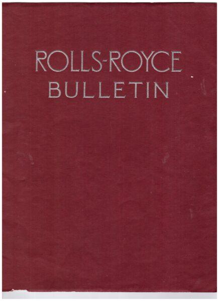 Biuletyn Rolls Royce z 1929 roku, nadesłany do hrabiny Twardowskiej z Kobylnik, fot. Muzeum Zamek Górków w Szamotułach
