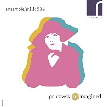 Okładka płyty Poldowski Reimagined, fot. z archiwum Towarzystwa Muzycznego im. H. Wieniawskiego