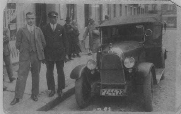 rynek w Szamotułach, lata 30. XX w., fot. Muzeum Zamek Górków w Szamotułach