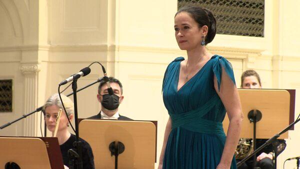 Simona Šaturová w Filharmonii Poznańskiej im. T. Szeligowskiego, fot. archiwum Filharmonii Poznańskiej