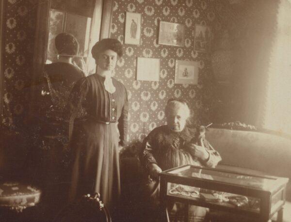 Dobrojewo, Barbara Kwilecka około roku 1909, fot. Polona