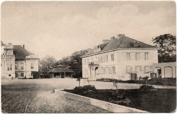 Dobrojewo, oficyna północna około roku 1910, fot. ze zbiorów P. Przewoźnego