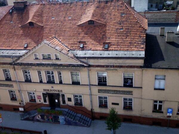 Fragment dawnego Hotelu Polskiego, fot. M. Gołembka