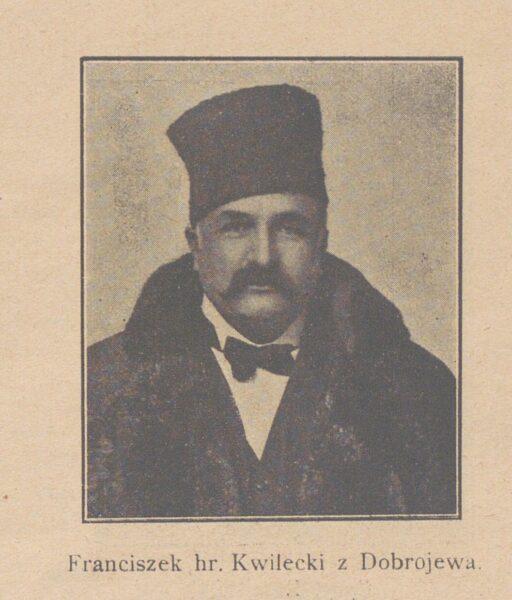 Franciszek Kwilecki, 50 lat pracy Banku Kwilecki Potocki i Ska w Poznaniu (1870-1920) przegląd jubileuszowy, fot. Polona