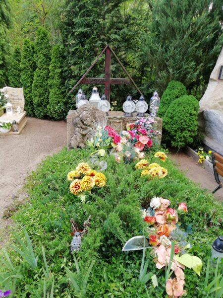 Grobowiec Rodziny Kwileckich na cmentarzu w Ostrorogu, fot. M. Dachtera