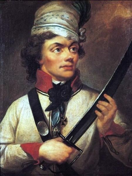 Tadeusz Kościuszko, fot. Wikipedia