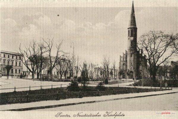 Plac Sienkiewicza, Szamotuły, fot. Fotopolska-Eu