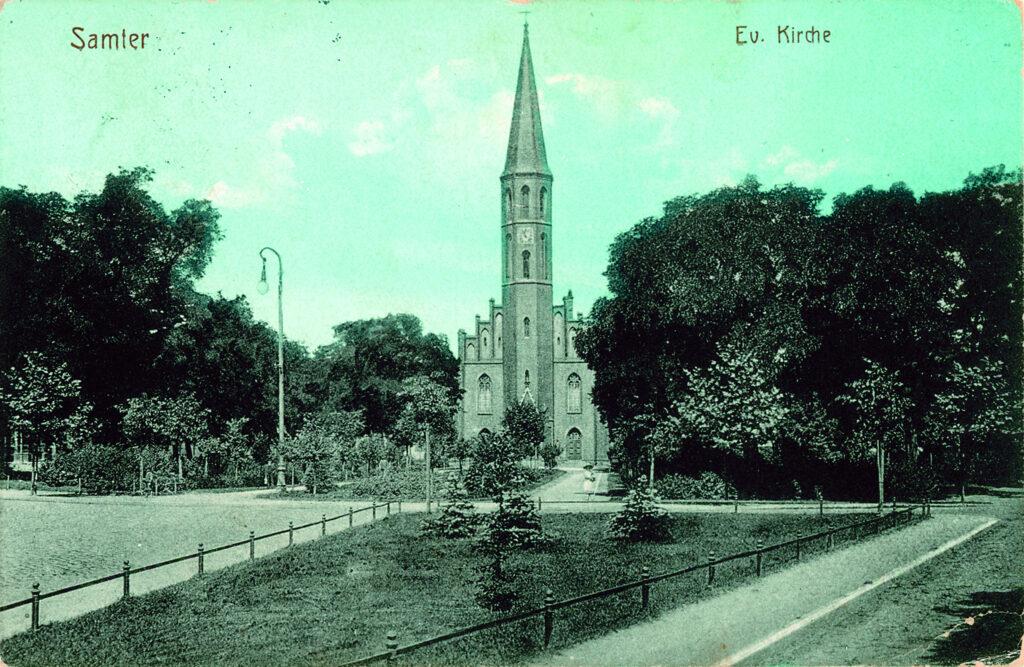 Kościół ewangelicki  w Szamotułach