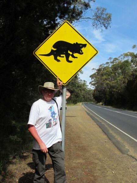 """Uwaga, diabeł tasmański!, fot. z książki pt. """"Australia, no worries"""""""
