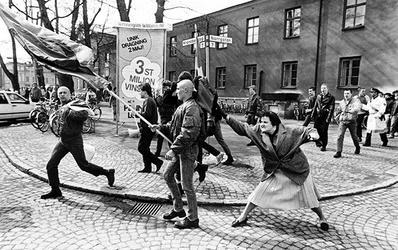 Zdjęcie, które 13 kwietnia 1985 zrobił Hans Runesson w Växjö, fot. Wikipedia