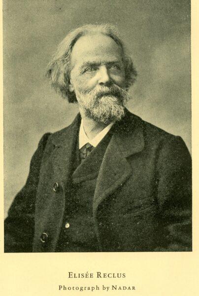 Élisée Reclus sfotografowany przez Nadara, fot. Domena publiczna (Wikimedia Commons)