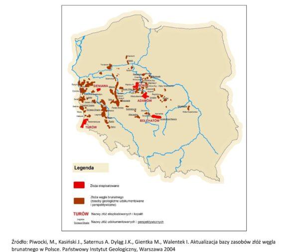 Złoża węga brunatnego w Polsce, fot. Ministerstwo Energii