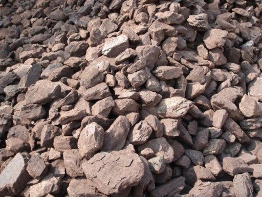 Bryły węgla brunatnego, fot. domena publiczna