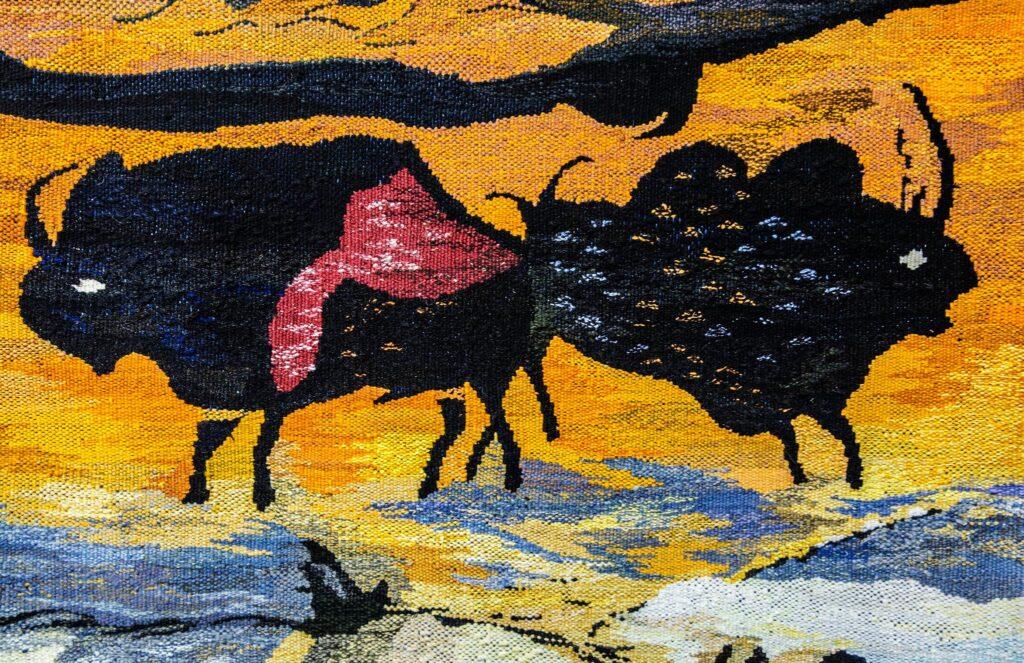 Gobeliny z Lascaux w Muzeum Śremskim