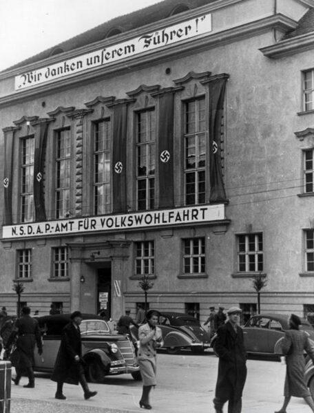 Poznań w czasie niemieckiej okupacji, fot. Narodowe Archiwum Cyfrowe