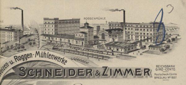 Młyn Żytni firmy Schneider&Zimmer, fot. ze strony Zabytki Miasta Leszno