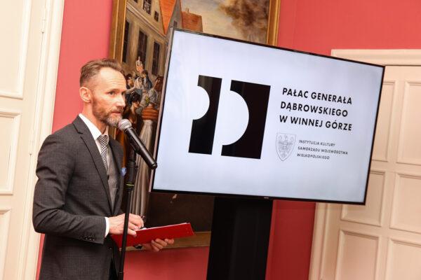 Marek Roman, dyrektor Pałacu Dąbrowskiego, fot. M. Grewling