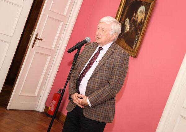 Jan Maćkowiak, dyrektor muzeum w Szreniawie, fot. M Grewling
