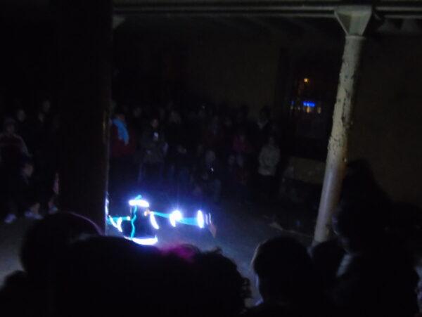 Pokaz Lightskin w młynie, fot A. Gołembka
